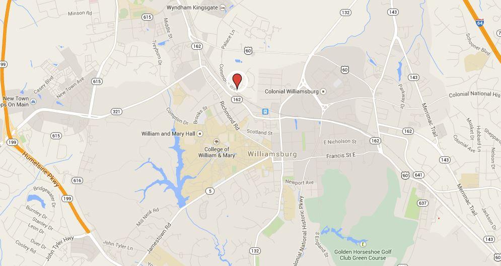 map williamsburg commons