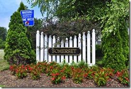 Somerset entrance , villages of Westminster