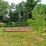 Picnic shelter playground