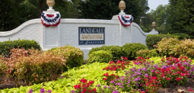 landfall entrance