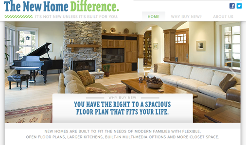 Home Builders Launch Website And Campaign Extolling New
