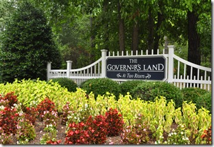governors land sign