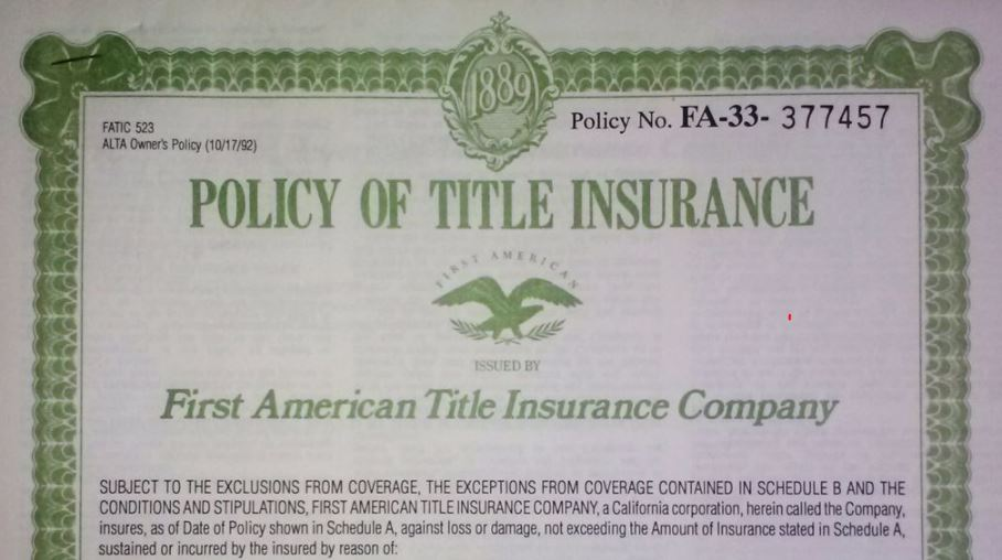 Why should I buy owners title insurance?