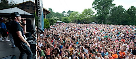 Busch Gardens Williamsburg Concerts in 2013