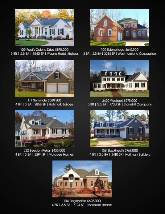 valentine day open houses in fords colony williamsburg va