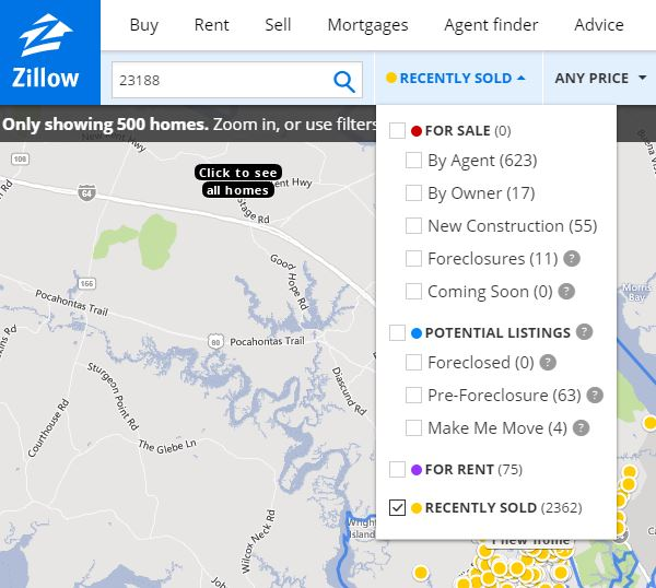 "Homes For Rent Zillow: Zillow ""Zestimates"" And Home Pricing"