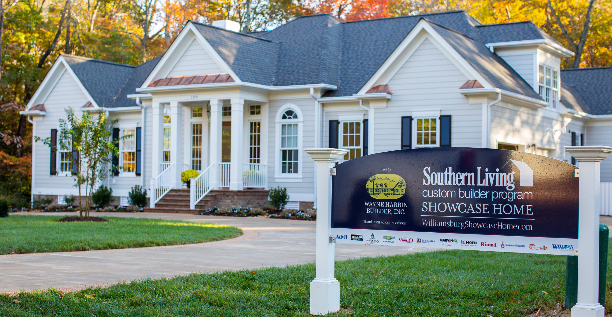 Liz moore associates teams with local builder to host for Southern living house