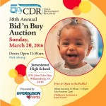 CDR Bid 'n' Buy Auction this weekend!