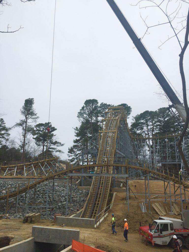 Sneak peak at invadr busch gardens williamsburg s new wooden roller coaster for Busch gardens pass member website