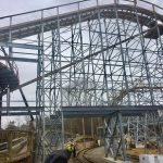 Sneak peak at InvadR Busch Gardens Williamsburg's new wooden roller coaster