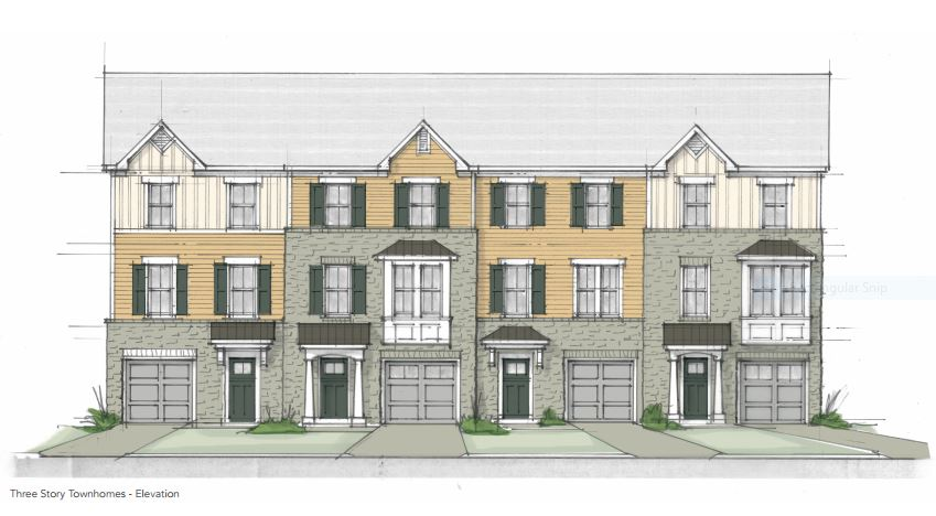Three story townhomes arbordale williamsburg va mr for 3 story townhomes