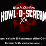 Busch Gardens Celebrates ᙭᙭ Years of Fears